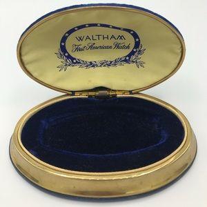 Vintage Waltham wristwatch case
